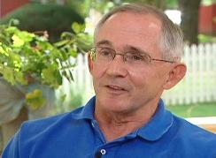 Image of 9/11 family member Bob McIlvaine