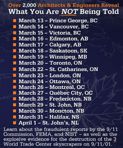 New Canada ReThink Tour