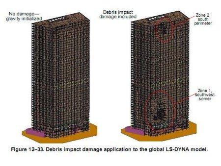 NIST's WTC7 impacts