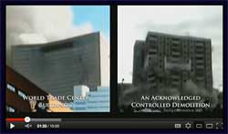 WTC 7 Collapsed Compared to Known Controlled Demolition