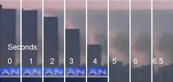 WTC Building 7 Collapses in 6.5 seconds