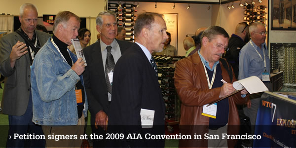 AE911Truth at San Francisco AIA Convention
