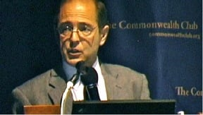 Richard Gage, AIA, speaks at the Commonwealth Club