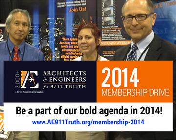 AE911Truth 2014 Membership dirve